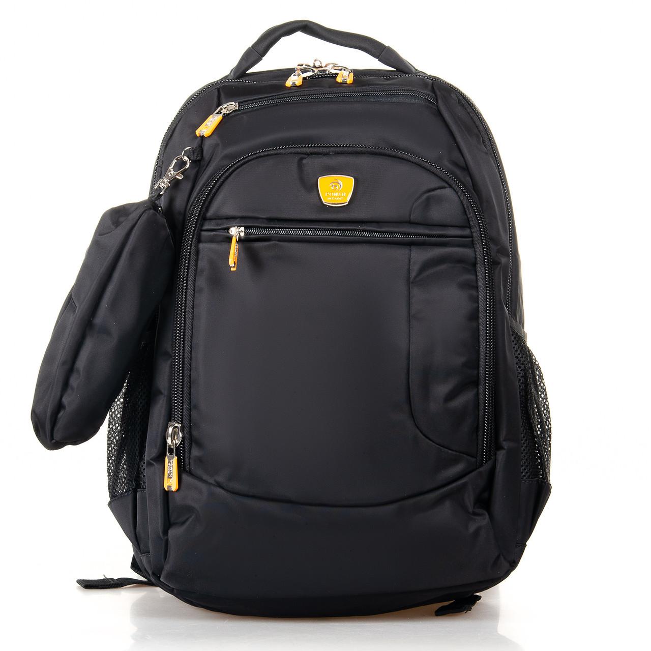 Рюкзак городской Power In Eavas 5143 black с карманом для ноутбука
