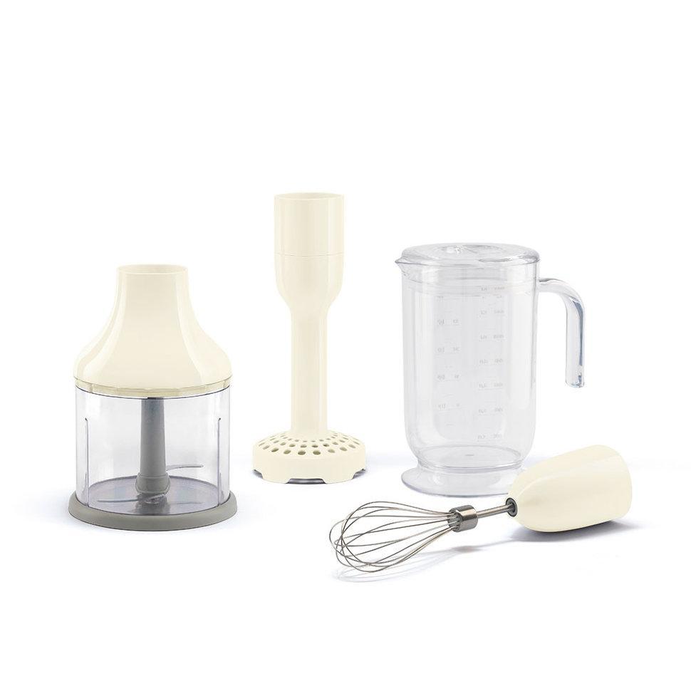 Набор аксессуаров для погружного блендера Smeg кремовый HBAC01CR