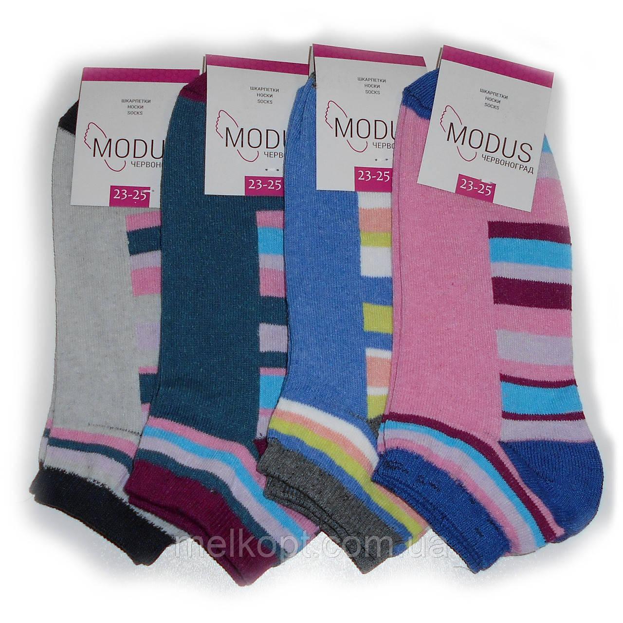 Женские носки Modus - 7,00 грн./пара (короткие, полуполоска)