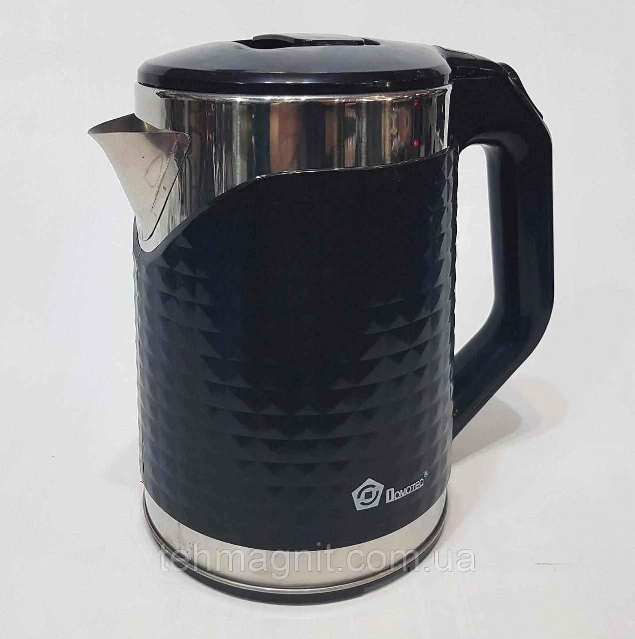 Чайник электрический дисковый Domotec MS-5027  2000w, 2.2 л