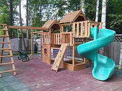 Детская деревянная игровая площадка