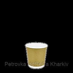 Стакан Craft+Білий Двошаровий 110мл, 30шт/уп, 1ящ/54уп/1620шт