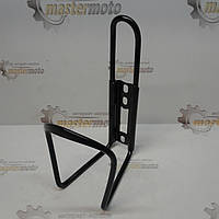 Флягодержатель  алюминиевый черный (крепление на раму)