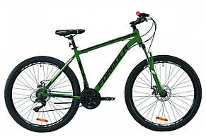 """Велосипед горный мужской 27.5"""" Formula Thor 1.0 2020 алюминиевая рама 19"""" нефритово-синий с белым, фото 2"""