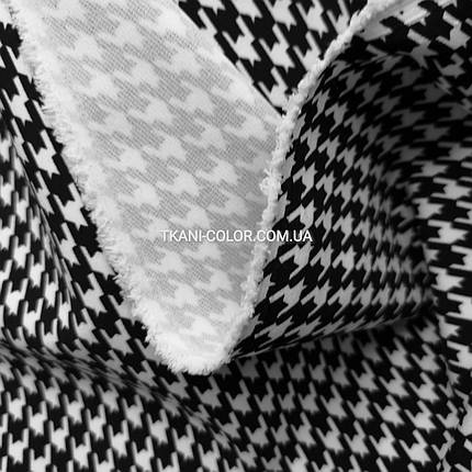 Ткань барби принт гусиная лапка, фото 2