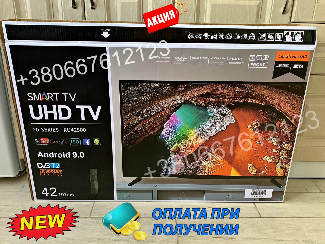Телевизор 42 Samsung SmartTV LED! FullHD,  IPTV, Android, T2, WIFI, USB самсунг ,2GHZ