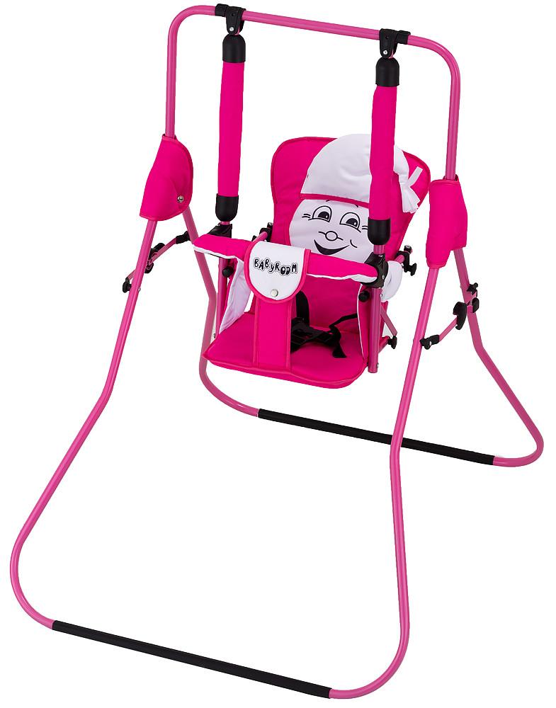 Гойдалка Babyroom Casper рожевий-білий