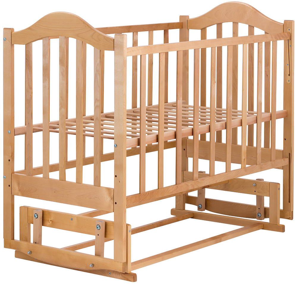 Кровать Babyroom Дина D204 маятник  лакированная