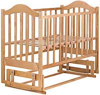 Кровать Babyroom Дина D204 маятник  лакированная, фото 1