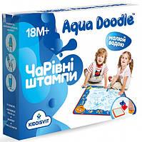 Набір для малювання водою Aqua Doodle - Чарівні штампи