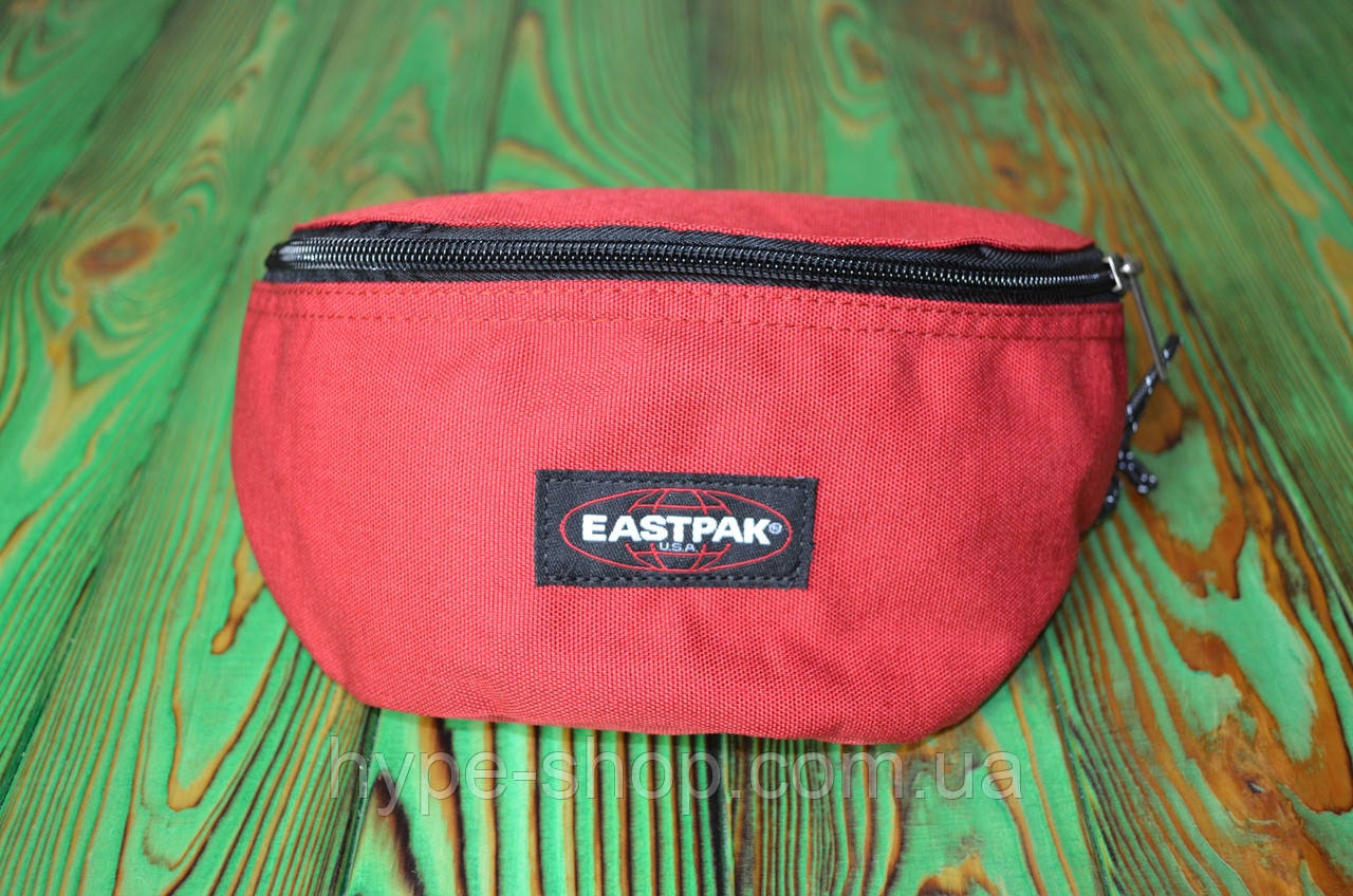 Поясная Сумка в стиле Eastpak красная