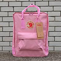 Розовый Рюкзак в стиле Fjallraven Kanken Classic, розовый канкен