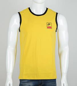 Чоловіча Безрукавка Nike (2060бм), Гірчиця