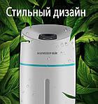 Увлажнитель воздуха ультразвуковой Adna Humidifier Q1 с LED подсветкой. Увлажнитель-ночник. Белый, фото 6