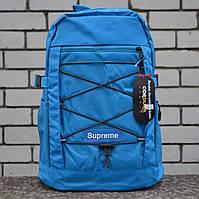 Рюкзак в стиле Supreme синий, фото 1