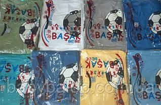 """Стильная футболка фосфор """"Мяч"""" (от 5 до 8 лет), фото 3"""