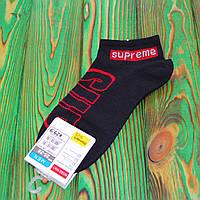 Чорні Шкарпетки в стилі Supreme Універсальні 36-45