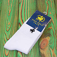 Білі Шкарпетки в стилі Ralph Lauren Універсальні 36-45