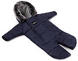 Зимний конверт Bair North premium  темно-синий, фото 2