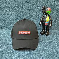 Черная Кепка в стиле Supreme