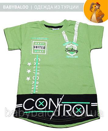 """Стильная футболка  """"Control"""" (от 5 до 8 лет), фото 2"""