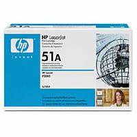 Картридж HP Q7551A  HP 51A LJ P3005/M3027/M3035 Black (6500 стр) оригинальный