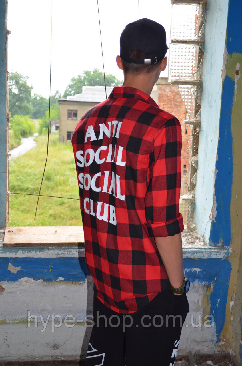 Рубашка в стиле ASSC