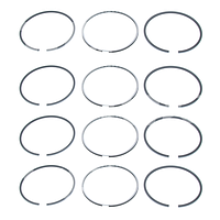 Поршневые кольца 0,50 для двигателя  Toyota (Тойота) 4P, 4Y