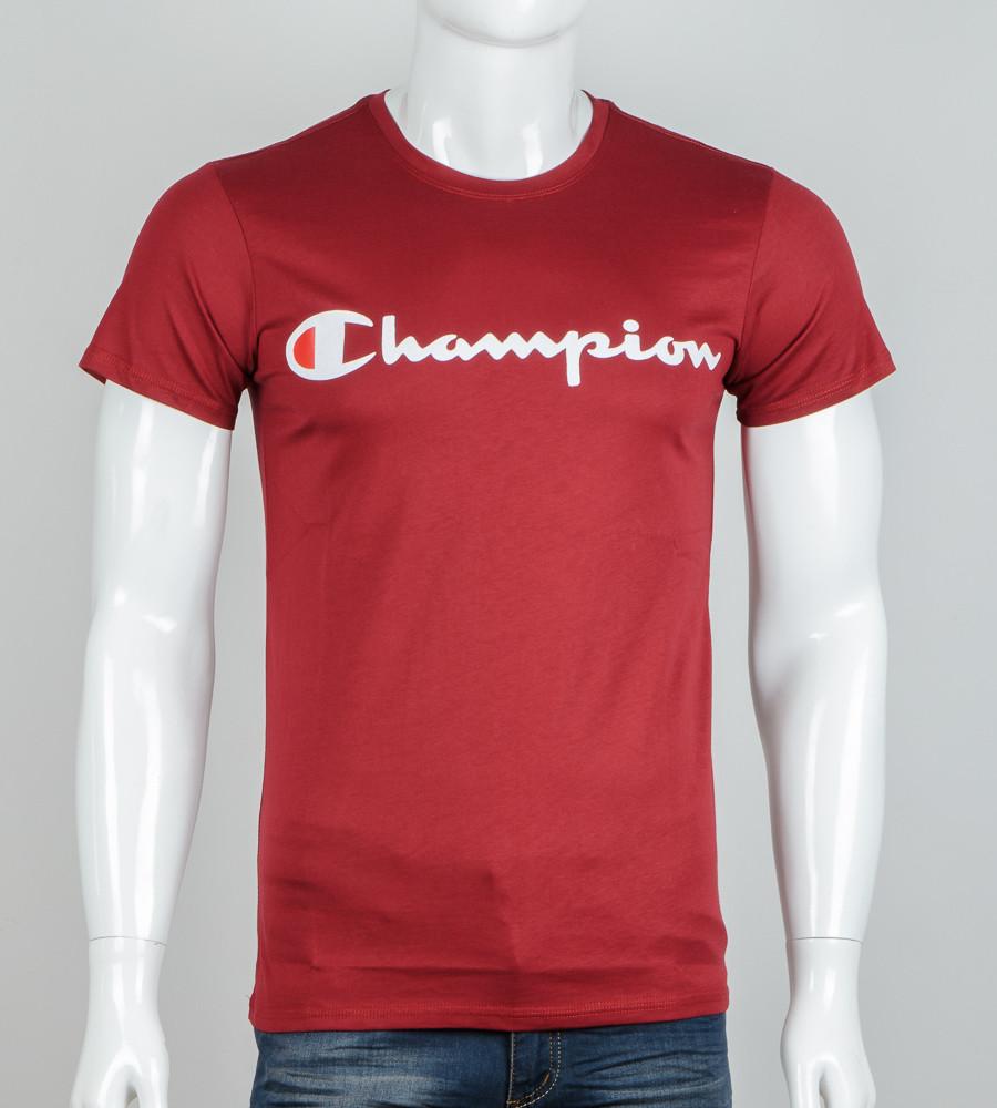Футболка мужская Champion (2041м), Бордовый
