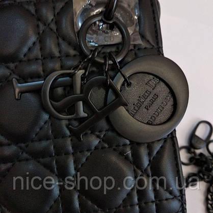 Сумочка брендовая кожаная, мини, фото 3