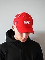 Мужская Кепка красная UFC | Отличный выбор, фото 1