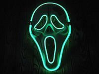 Светодиодная LED маска, светящийся маска, фото 1