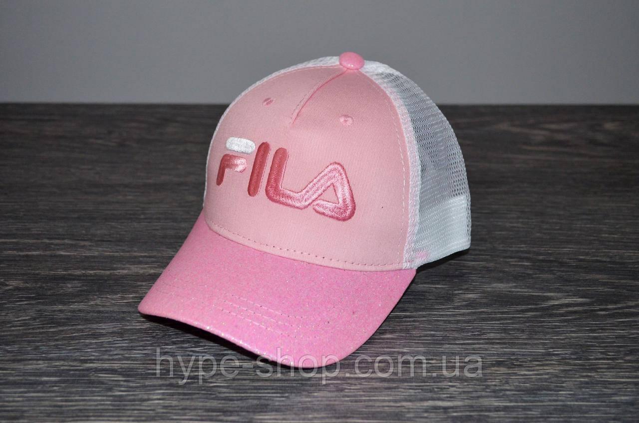 Розовая Кепка в стиле FILA | Отличный выбор