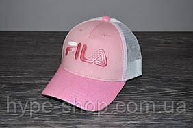 Рожева Кепка в стилі FILA | Відмінний вибір