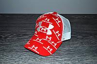 Красная Кепка в стиле Under Armour | Отличный выбор, фото 1