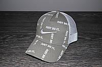 Серая Кепка Nike реплика, фото 1