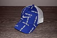 Синяя Кепка в стиле Nike, фото 1