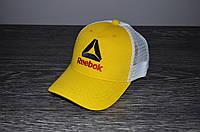 Жовта Кепка Тракер в стилі Rebook, фото 1