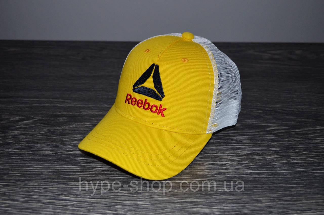 Жовта Кепка Тракер в стилі Rebook