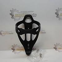 Флягодержатель пластико-нейлоновый, черный, SPELLI