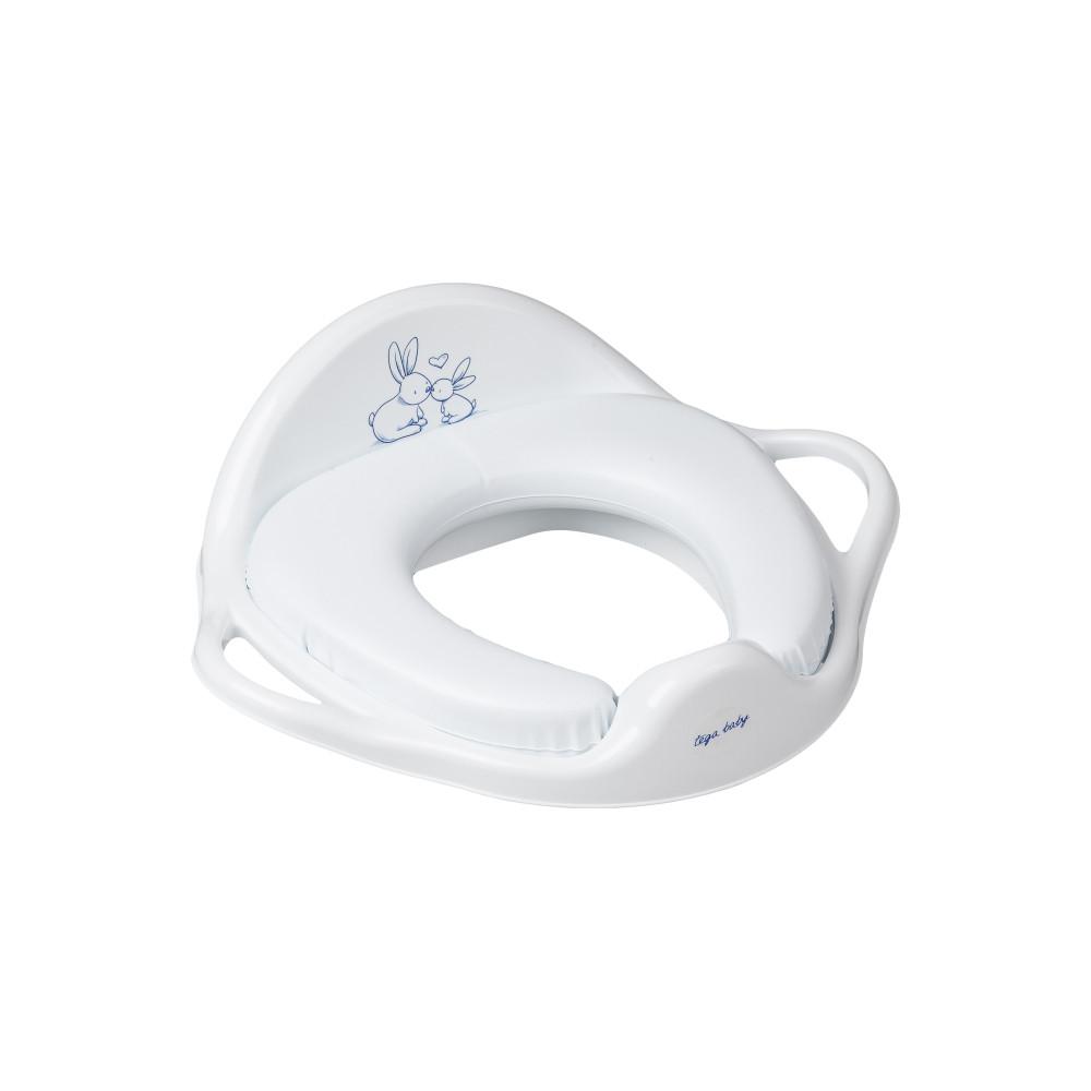 Накладка на унітаз Tega Little Bunnies KR-020 Soft м'яка 103 white