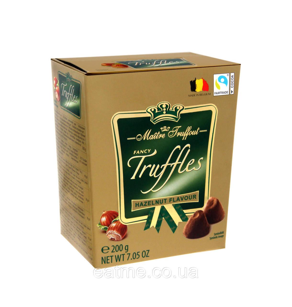 Конфеты Трюфель ореховый  Maitre Fruffout
