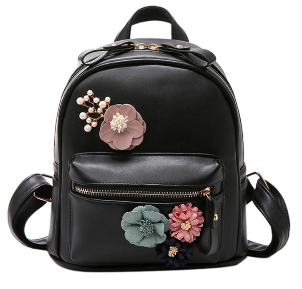Рюкзак женский городской с цветами Kaila