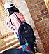 Рюкзак женский вельветовый городской Kaila Traveling, фото 4