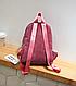 Рюкзак женский вельветовый городской Kaila Traveling, фото 6