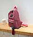 Рюкзак женский вельветовый городской Kaila Traveling, фото 8