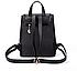 Рюкзак женский из кожзама на шнурке Kaila Glamur Синий, фото 2