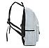 Рюкзак городской молодежный Kaila с пеналом Серый, фото 5