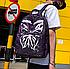Рюкзак женский Kaila Butterfly городской Фиолетовый, фото 3