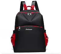 Рюкзак женский городской Look Kaila Черный Черный с красным